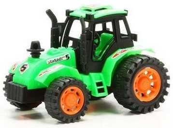 Трактор Zhorya Трактор зеленый