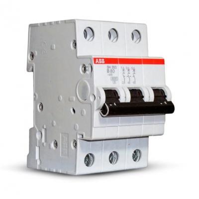 Автомат ABB S203 C10 3-полюсной диф автомат abb dsh941r c10