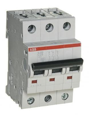 Автомат ABB S203 C32 3-полюсной автомат abb s203 c10