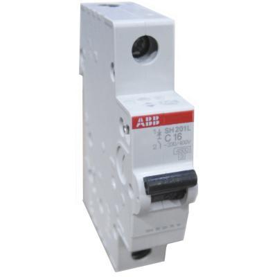 Автомат ABB SH201L C16 1-полюсной 2CDS241001R164