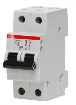 Автомат ABB SH202L C25 2-полюсной автомат abb s203 c32