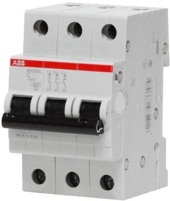 Выключатель ABB 2CDS243001R0634 авт. мод. 3п c 63а sh203l 4.5ка автомат 3p 63а тип с 6 ka abb s203