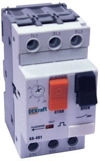 Выключатель DEKRAFT 21208DEK авт. защиты двиг. 13-18a ВА-401
