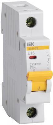 Выключатель автоматический модульный ИЭК 1п C/ 3А ВА 47-29 MVA20-1-003-C