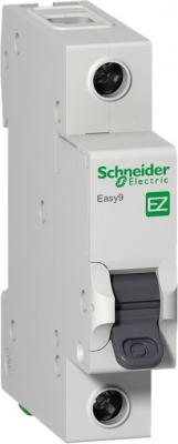 Выключатель автоматический Schneider Electric EASY9 ВА 1П 10А C 4.5кА 1DIN 1полюс 82х18мм автомат 1p 6а тип с 4 5ка schneider electric easy9