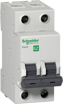 Выключатель автоматический Schneider Electric EASY9 ВА 2П 16А C 4.5кА 2DIN 2полюса 82х36мм автомат 1p 16а тип с 4 5 ka schneider electric easy9