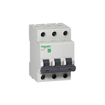 Выключатель автоматический Schneider Electric EASY 9 EZ9F34350 модульный 3п C 50А 4.5кА автоматический выключатель schneider electric easy 9 3п 40a c ez9f34340