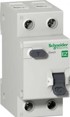 Выключатель автоматический диф. Schneider Electric EASY9 АВДТ 1П+Н 16А 30мА C AC 2DIN 2пол.