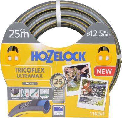 Шланг HOZELOCK 116241 TRICOFLEX ULTRAMAX 25м 1/2 пвх шланг hozelock 116787 super tricoflex ultimate