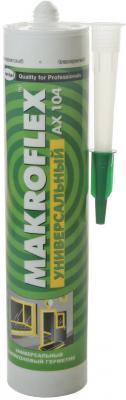 Герметик силиконовый MAKROFLEX AX104 бесцветный (0.29л) цены