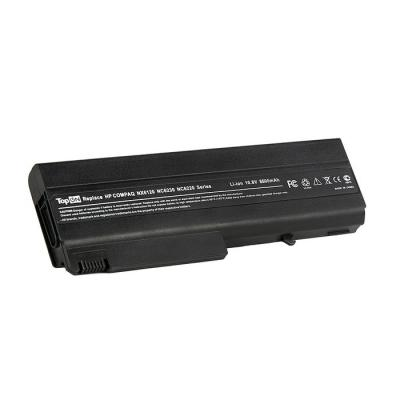Аккумулятор для ноутбука HP Compaq nc6100, nc6200, nc6400, 6510, 6910, nx6300 Series 6600мАч 11.1V TopON TOP-NX6120H аккумулятор topon top 6520h 7800mah усиленный for hp compaq 540 541 6520s 6530s 6531s 6535s