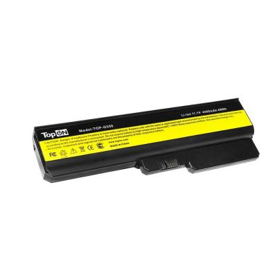Аккумулятор для ноутбука Lenovo IdeaPad B460, B550, G430, G430A, G430LE, G450, G450A, G450M, G455, G530, G530A, G530M, G550, G550A, G550L, G550M, G550S, G555, G555A, G555AX, G555G, G555L, N500, V460, V460A, Z360, Z360A Series 4400мАч 11.1V TopON TOP-LG450 цена