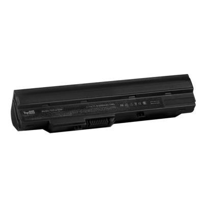 Аккумулятор для ноутбука MSI Wind U90, U100, U120, U123, U200, U210, U230, LG X110 Series 6600мАч 11.1V TopON TOP-U100H