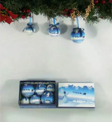 Фото - Елочные украшения Winter Wings КРАЙНИЙ СЕВЕР 5, 6, 7,5 см 6 шт пластик набор шаров блестящих крайний север 6 шт в подарочной коробке 5 6 7 5 см