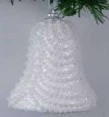 Украшение елочное КОЛОКОЛЬЧИК, блестящая крошка, 1 шт. в прозрачной коробке, 10 см, 1 цв. украшение елочное колокольчик новый год 7 8 см полирезин 1 шт в пак