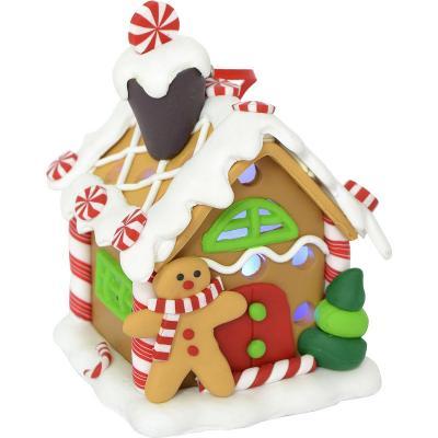 Купить Украшение новогоднее Winter Wings Пряничный домик 6*7, 5 см, Атрибуты для праздника