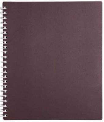 Тетрадь METALLIC бордо, на гребне, кл., пластиковая обложка, ф. А5., 80 л. 040530 тетрадь 80л а4ф пластиковая обложка на гребне diamond черная