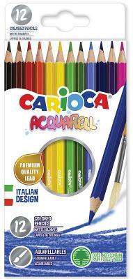Набор цветных карандашей CARIOCA Acquarell 12 шт
