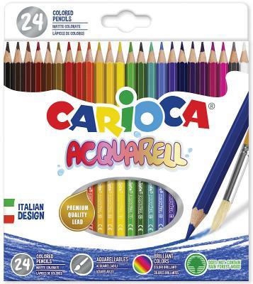 Набор цветных карандашей CARIOCA Acquarell 24 шт