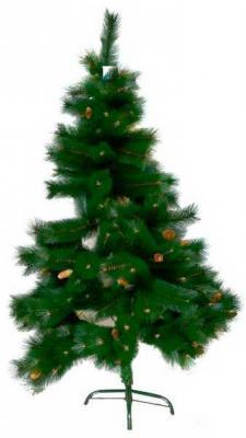 Сосна зеленая с шишками,428 веток, 210 см сосна winter wings n03116 210 см 775 веток