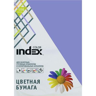 Цветная бумага Index Color IC86/100 A4 100 листов IC86/100