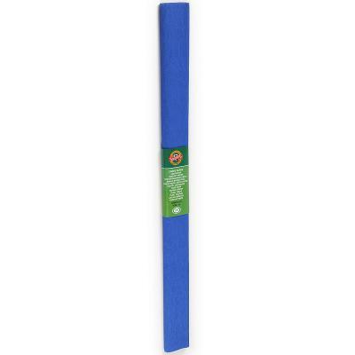 Креп-бумага Koh-I-Noor, синяя, 2000х500 мм