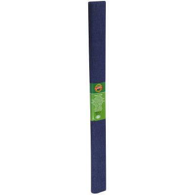 Креп-бумага Koh-I-Noor, темно-синяя, 2000х500 мм