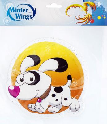 Наклейка Winter Wings Собака 15х15 см