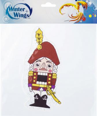 Наклейка Winter Wings Щелкунчик 20х20 см