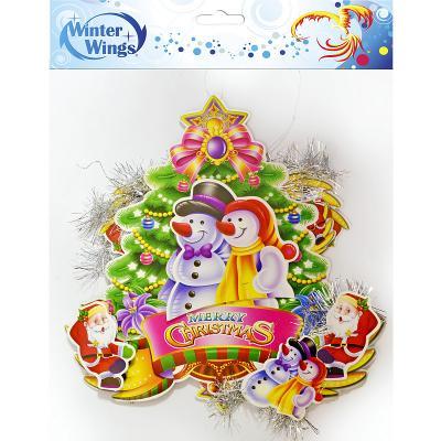 Купить Украшение новогоднее Winter Wings Украшение новогоднее 25 см, Атрибуты для праздника