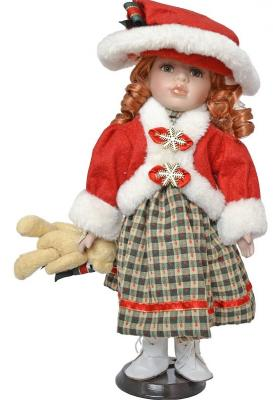 {1} кукла Winter Wings Игрушка СНЕГУРОЧКА, 30 см. пластик, полиэстр|2 пластик полиэстер 30 см игрушка снегурочка 30 см пластик полиэстр 4