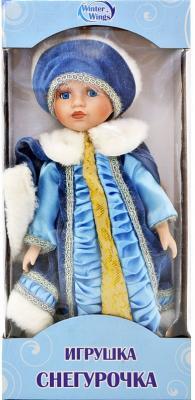 {1} кукла Winter Wings Игрушка СНЕГУРОЧКА, 30 см. пластик, полиэстр|4 пластик полиэстер 30 см игрушка снегурочка 30 см пластик полиэстр 4