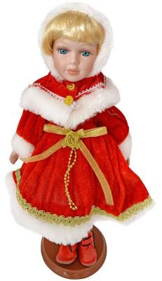 {1} кукла Winter Wings Игрушка СНЕГУРОЧКА, 30 см. пластик, полиэстр|5 пластик полиэстер 30 см игрушка снегурочка 30 см пластик полиэстр 4