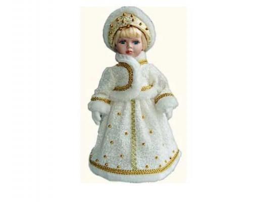 Купить Новогодняя игрушка снегурочка Winter Wings Снегурочка полиэстер пластик белый 40 см, пластик, полиэстер, Символ Года