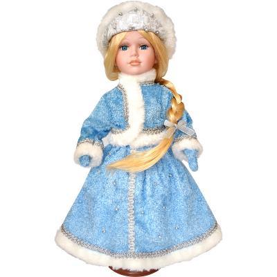 Купить Новогодняя игрушка снегурочка Winter Wings Снегурочка полиэстер пластик белый голубой 40 см, белый, голубой, пластик, полиэстер, Символ Года