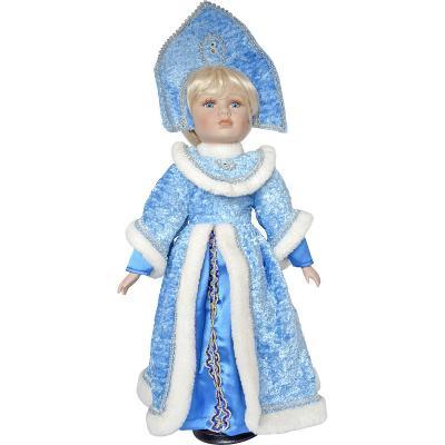 Купить Новогодняя игрушка снегурочка Winter Wings Снегурочка полиэстер пластик белый голубой 50 см, белый, голубой, пластик, полиэстер, Символ Года