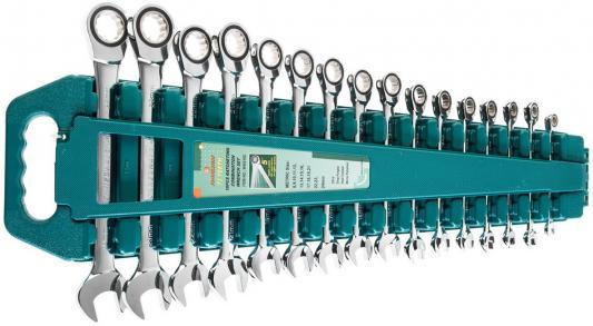 Набор комбинированных трещоточных ключей JONNESWAY W45516S 8-24мм, 16 предметов стоимость