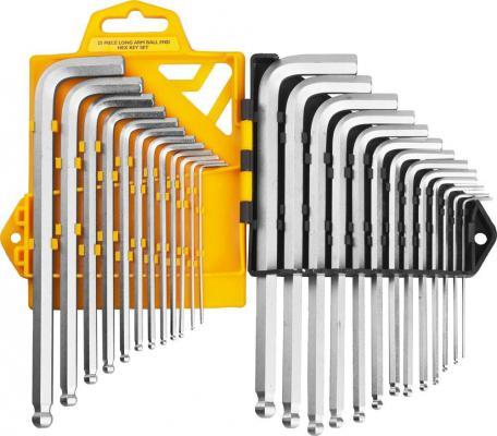 Набор JCB JWR005 Ключи имбусовые. длинные с шариком. сатинированное покрытие. Cr-V сталь. 25 предм пояс jcb jsw011