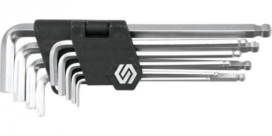 Набор ключей VOREL 56475 шестигранников с шаровым наконечником 9шт 2.5-10мм цена