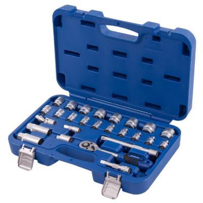 Набор головок Кобальт 010203-26 набор торцевых головок с принадлежностями 26 предметов кобальт 010203 26