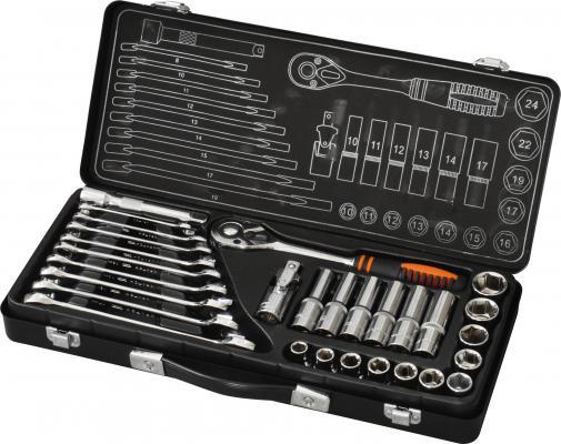 Набор инструмента КРАТОН TS-01 Cr-V 1-1-4 набор пневмоинструментов кратон ats 02 4 пр