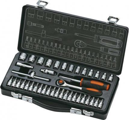 Набор инструментов КРАТОН TS-13 1/4 40 пр. 330х160х60 мм 2.33кг набор пневмоинструментов кратон ats 02 4 пр