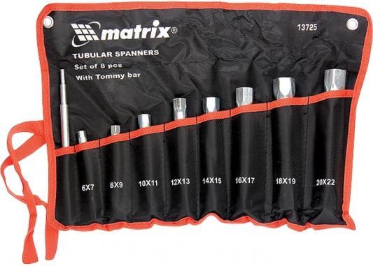 Набор ключей MATRIX 13725  трубчатых торцевых 9 пр