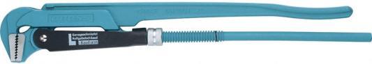 Ключ трубный рычажный GROSS 15605 №3 2 цельнокованный CrV, тип - L ключ трубный шведский gross 15605