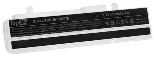 Аккумулятор для нетбука Asus Eee PC 1011, 1015, 1015B, 1015P, 1016, 1215 Series. 11.1V 4400mAh 49Wh. A31-1015, PL32-1015. Белый. аккумулятор asus a32 1015 for 1015 1016 1215 palmexx 5200 mah pb 253 black