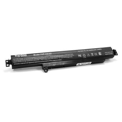 Аккумулятор для ноутбука Asus VivoBook F102BA, X102B, X102BA 2940мАч 11.25V TopON TOP-AS102
