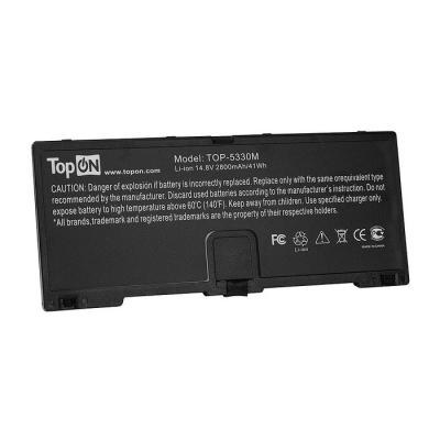 Аккумулятор для ноутбука HP ProBook 5330m Series 2800мАч 14.8V TopON TOP-5330M аккумулятор для ноутбука hp compaq hstnn lb12 hstnn ib12 hstnn c02c hstnn ub12 hstnn ib27 nc4200 nc4400 tc4200 6cell tc4400 hstnn ib12
