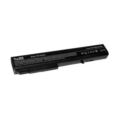 Аккумулятор для ноутбука HP EliteBook 8530p, 8530w, 8540p, 8540w, 8730p, 8730w, 8740w, ProBook 6545b Series 4400мАч 14.8V TopON TOP-HP8530 аккумулятор для ноутбука hp elitebook 2560p 2570p series 4400мач 11 1v topon top hp2560