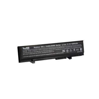 Аккумулятор для ноутбука Dell Latitude E5400, E5410, E5500, E5510 Series 5200мАч 11.1V TopON TOP-E5400 us new replace laptop keyboard for dell for latitude e5300 e5400 e5500 e5510 e5410