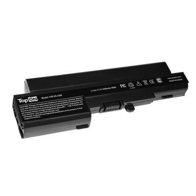 Аккумулятор для ноутбука Dell Vostro 1200 Series, Compal JFT00 4400мАч 11.1V TopON TOP-DL1200 аксессуар topon st fk 1w наклейка на клавиатуру для ноутбука